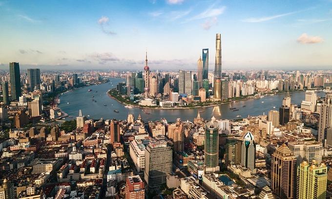 Một góc thành phố Thượng Hải, Trung Quốc. Ảnh: VCG.