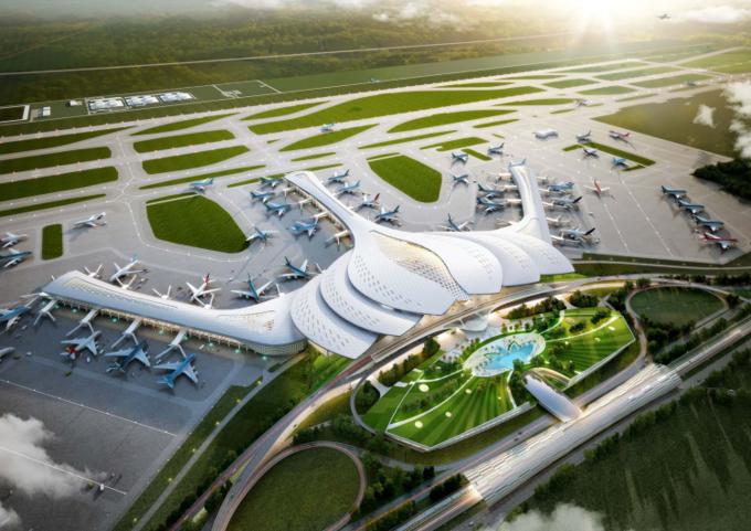 Từ Aqua City chỉ mất 20 phút kết nối đến sân bay Long Thành trong tương lai.
